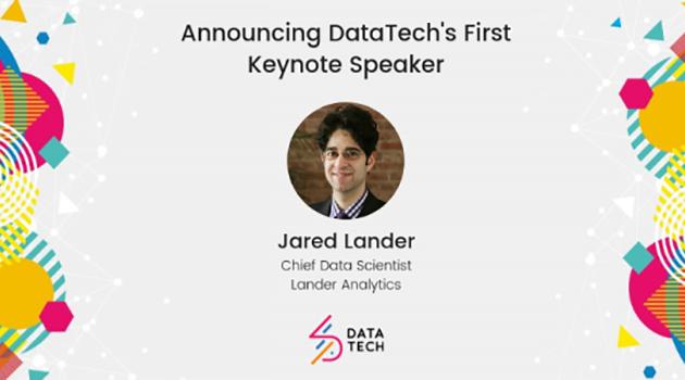 Introducing Jared Lander, Keynote Speaker at DataTech19 – The Data Lab
