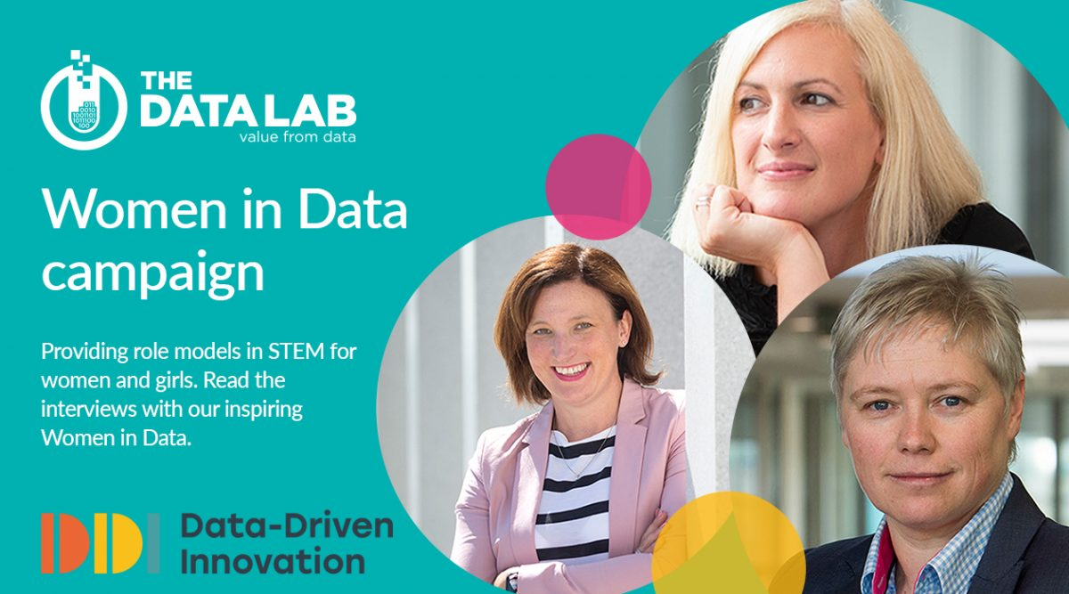 Some of our inspiring women take part in DDI Women in Data Campaign