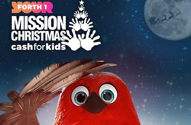 Mission Christmas cash for kids robin