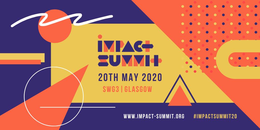 Impact Summit 2020 advert