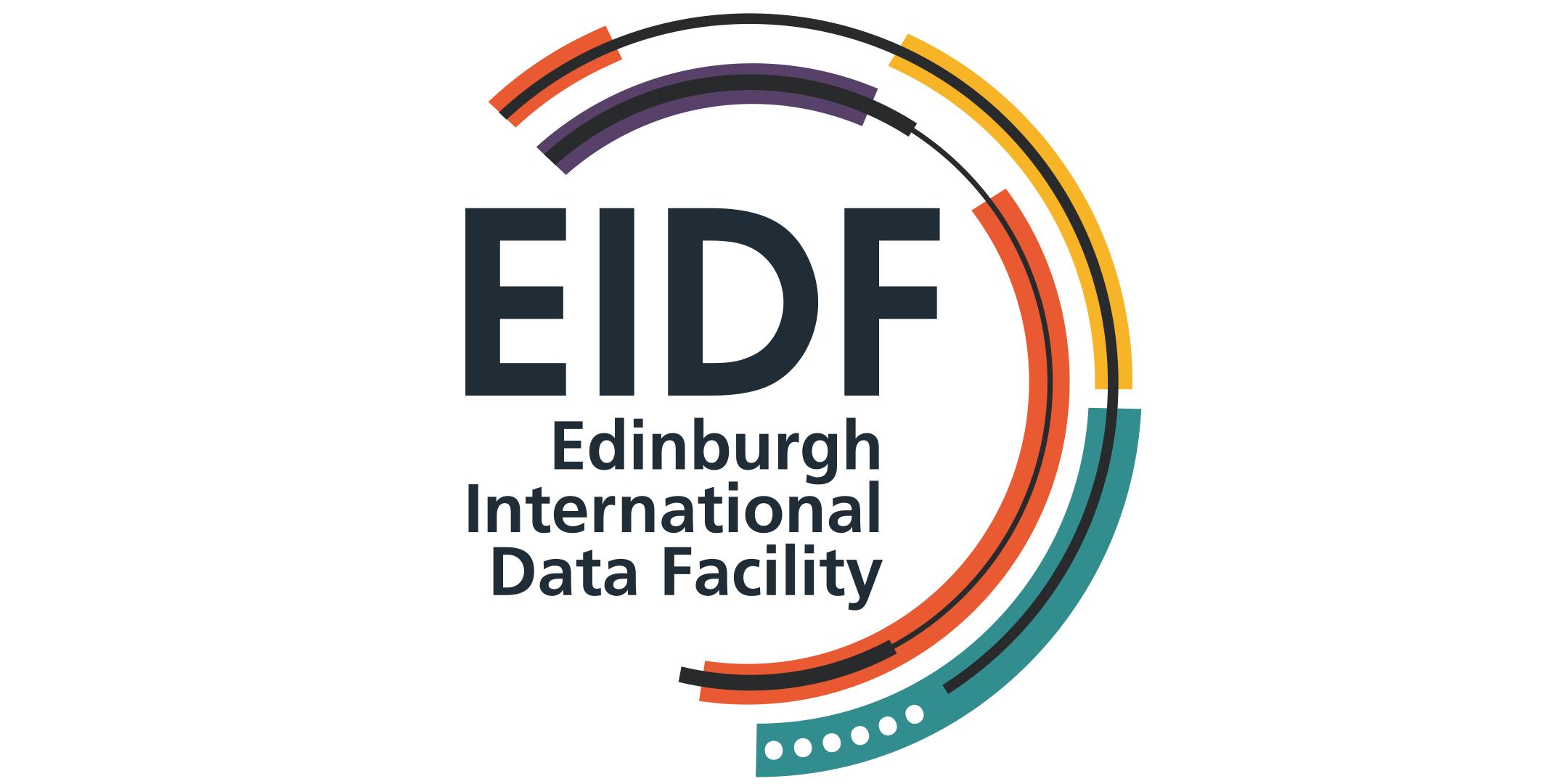 logo EIDF - Edinburgh International Data Facility
