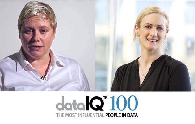 DataIQ 100 - Gillian Docherty & Alex Hutchison