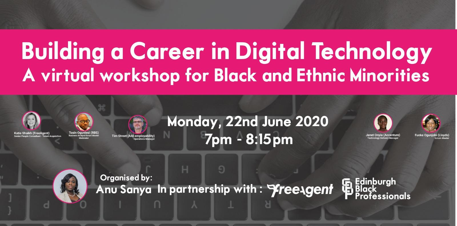 Career in Digital Technology flier