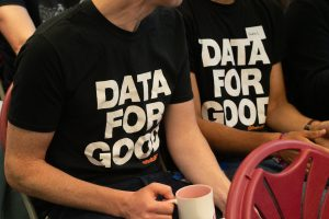 People in Data for Good tshirts