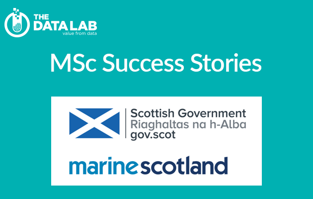 MSc success story with Marine Scotland