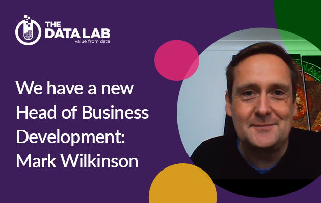 We have a new Head of Business Development: Mark Wilkinson