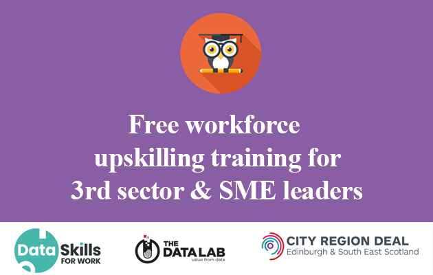 Free workforce upskilling training for 3rd sector & SME leader