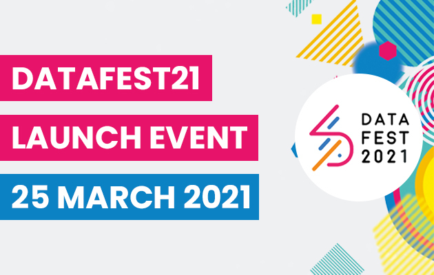 DataFest21 Launch event 25th March 2021