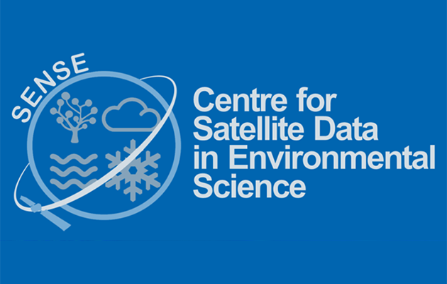 SENSE logo - Centre for Satellite Data in Environmental Science
