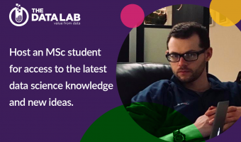 Host an MSc student for access to the latest data science knowledge