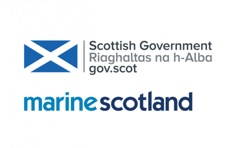 Scottish Govt and Marine Scotland logos