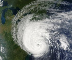 Hurrican seen from space